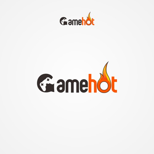 Bold logo for Game Hot