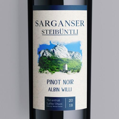 botlle wine
