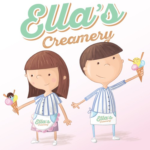 Characters for Ella's Creamery