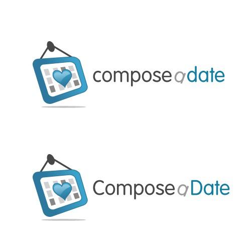 "Compose a logo for ""Compose a Date"""