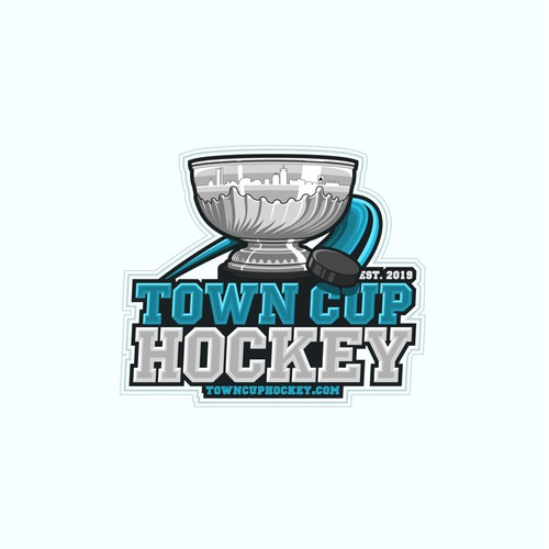 Hockey Sports Logo