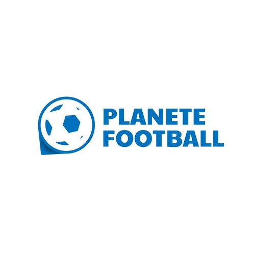 Logo for a football blog