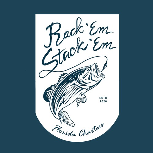 Classic Vintage Logo Fisherman