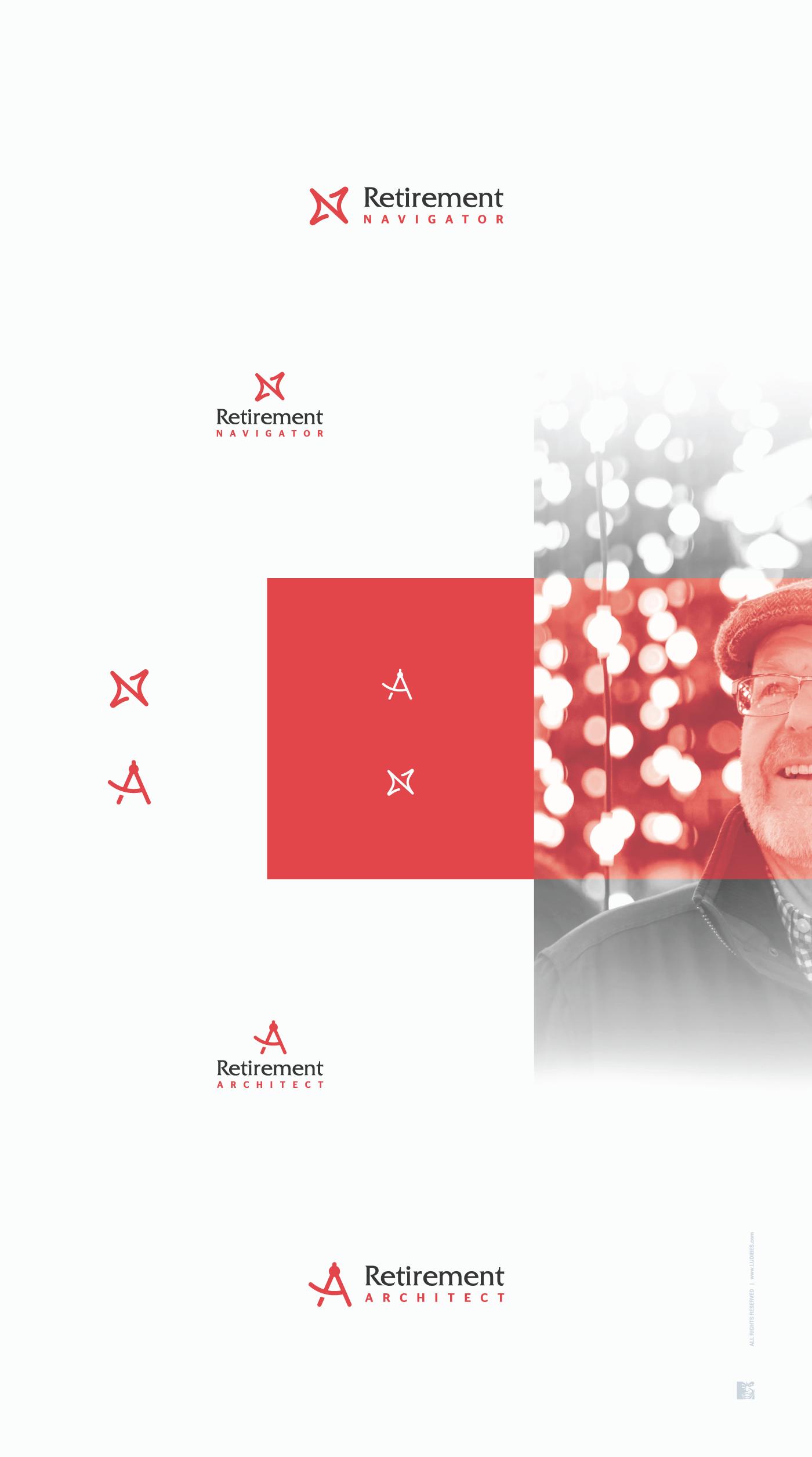 Retirement Architect and Retirement Navigator (2 logos)