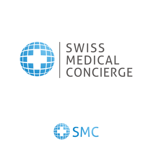 Logo for a Swiss based Medical Concierge Service