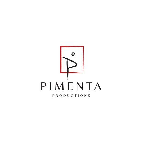 Minimalist artistic logo for Pimenta