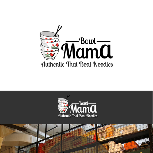 Authentic Logo for Bowl Mama