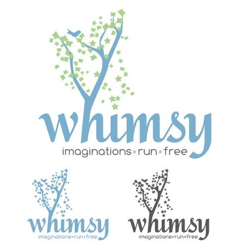 Whimsical cafe logo