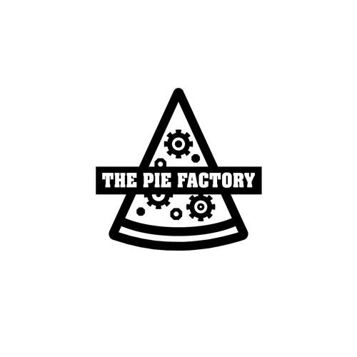 Logo for custom made pizza shop