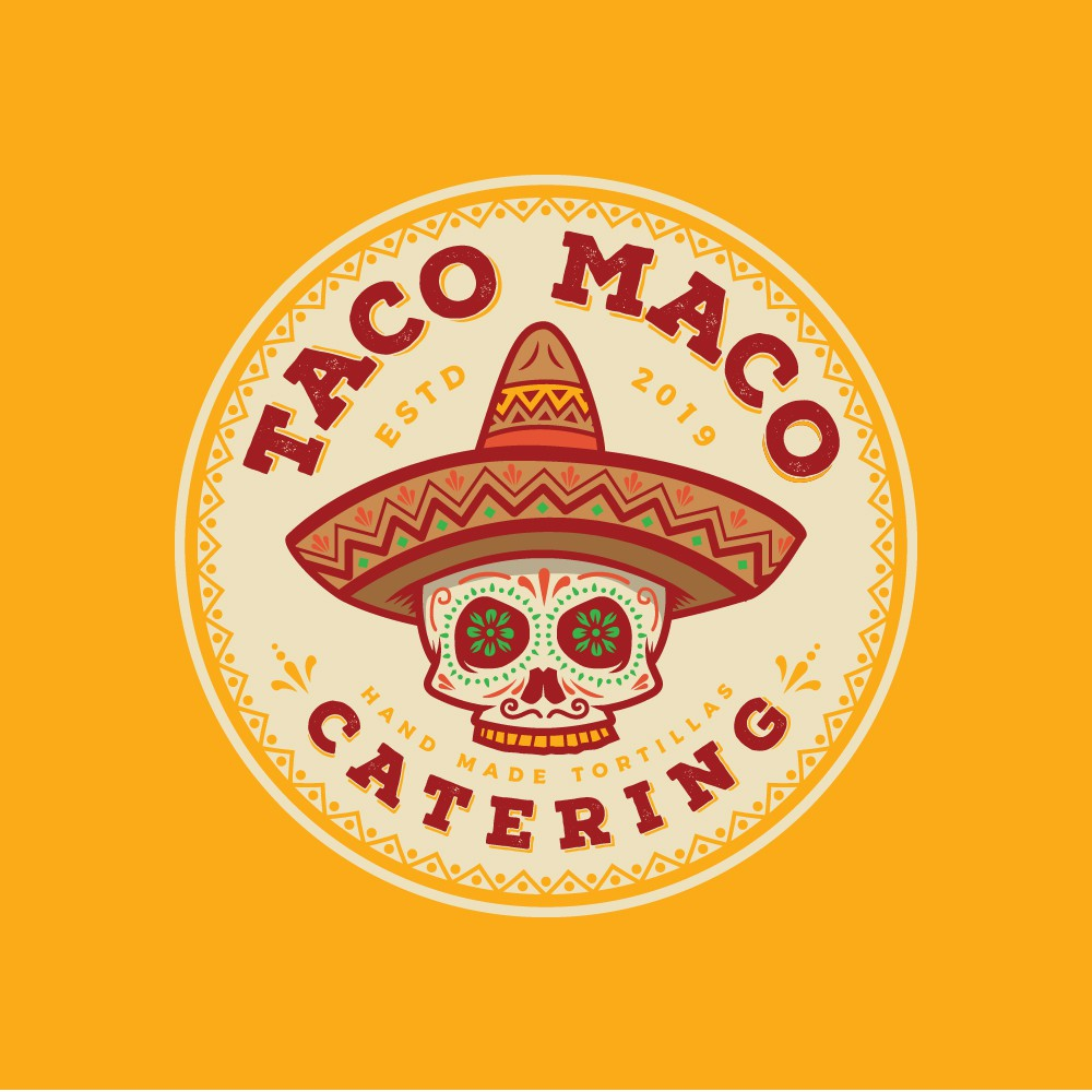 Appetizing logo needed for new taco catering! CRISP and PROFESSIONAL WORK