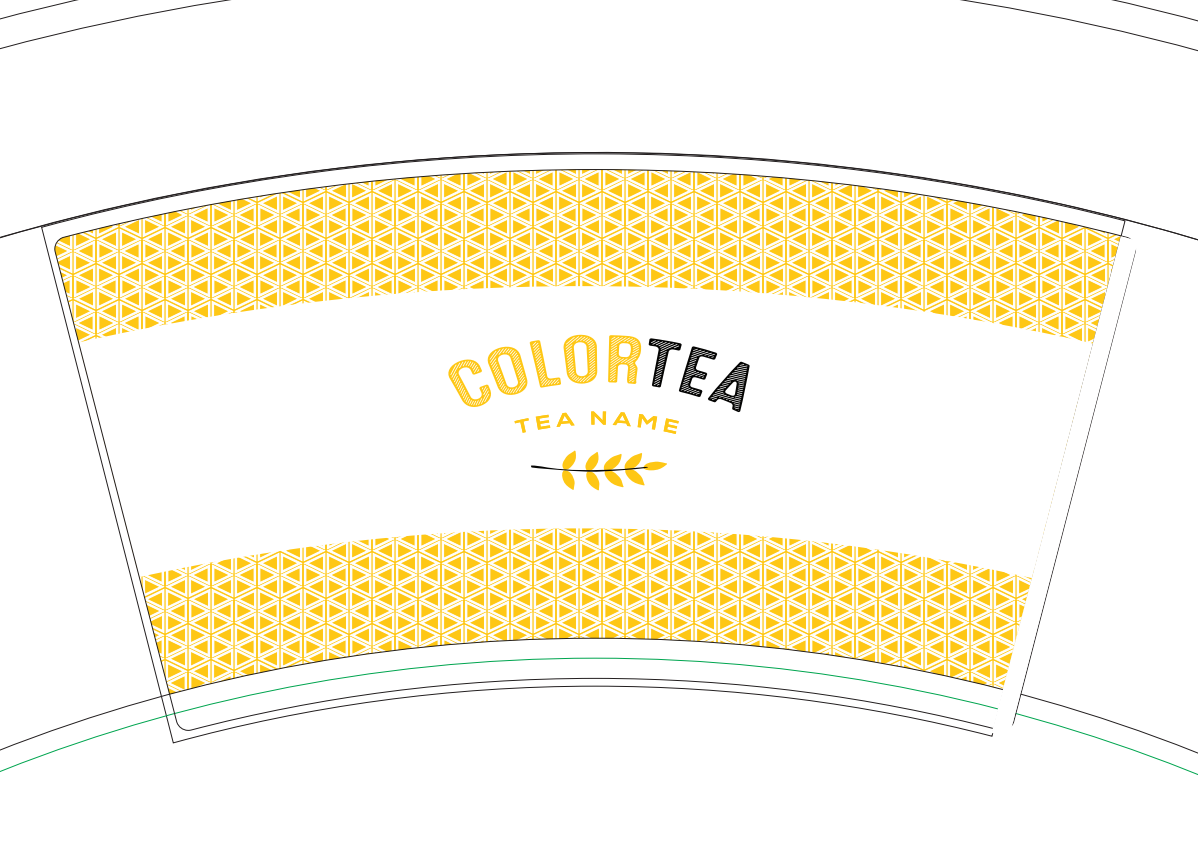 ColorTEA  yellow design