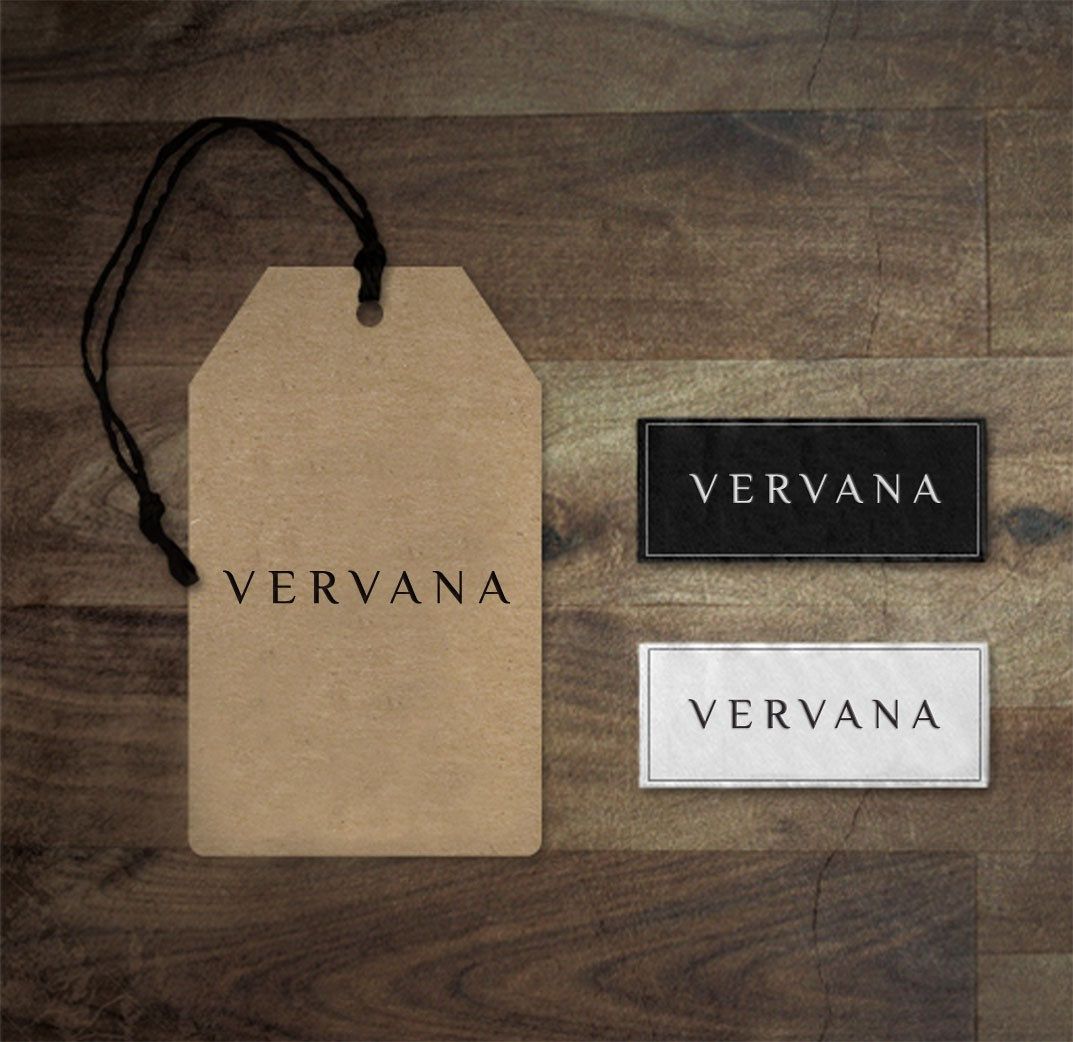 Create a classic logo for a new ladies fashion brand called Vervana