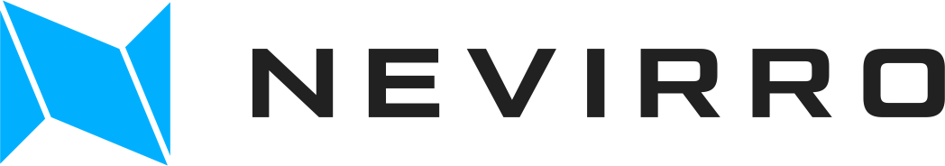 Simple but strong logo for Nevirro, a new Automotive marketplace brand
