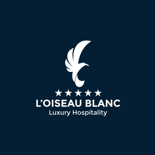 Logo concept for L'Oiseau Blanc