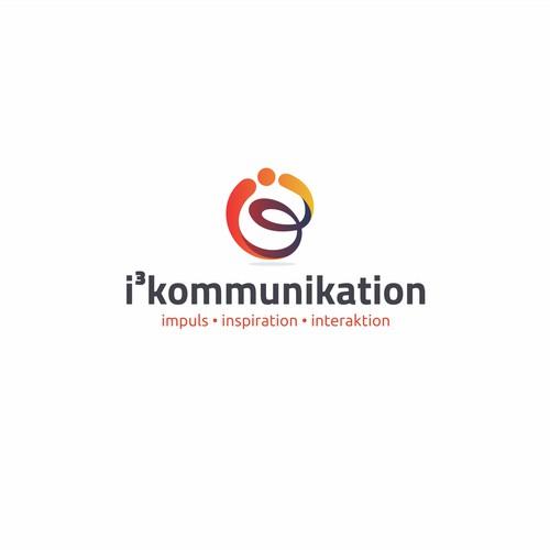 logo concept for i3 kommunikation