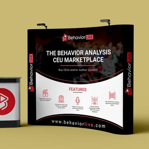 BehaviorLIVE Booth Banner