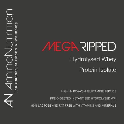Help Amino Nutrition redesign our product label