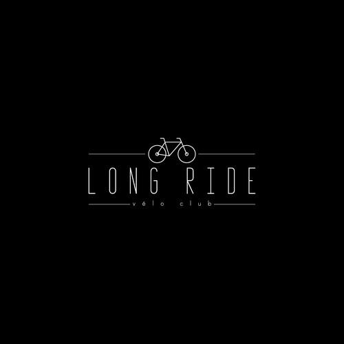 Logo concept for Long Ride
