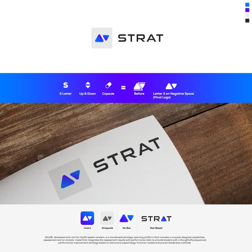 Logo & App Design Concept for STRAT