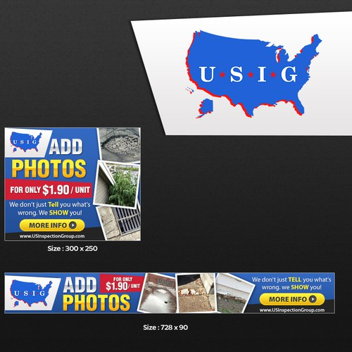 Create an engrossing banner for nationwide inspection company