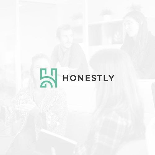Logo design for Honestly