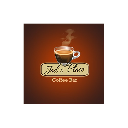 Funky, Upmarket Coffee Bar Logo