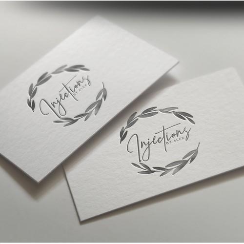 Injections med spa logo design
