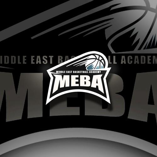 Facebook cover basketball logo concept