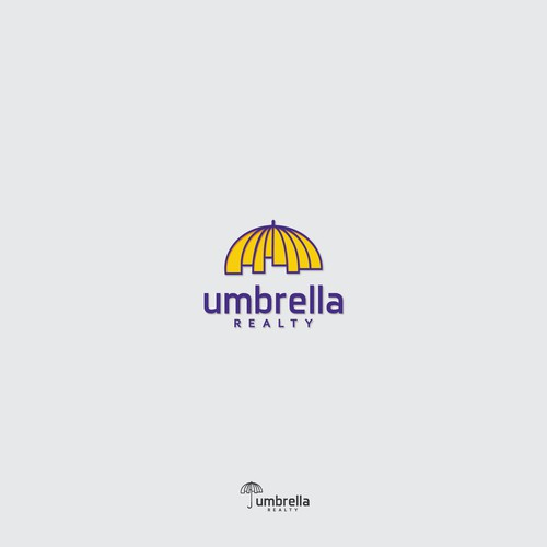 Umbrella Realty Logo Concept