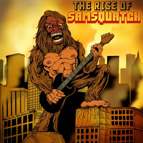 samsquatch cd cover