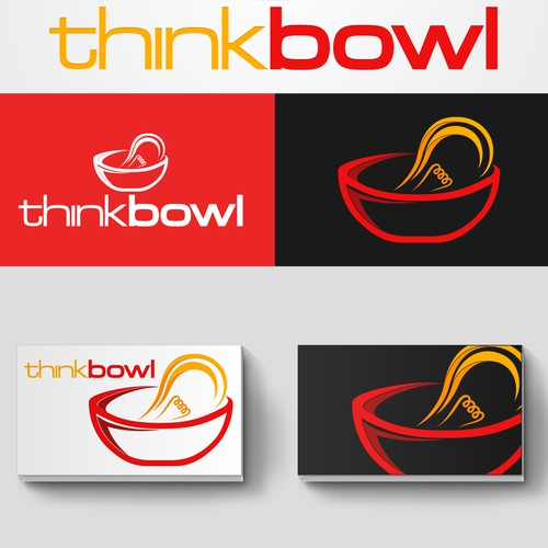 Create a unique, modern and creative logo for Think Bowl
