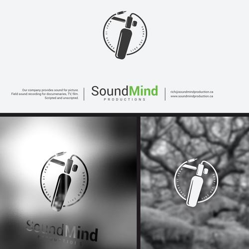 Logo design for Sound Mind Productions