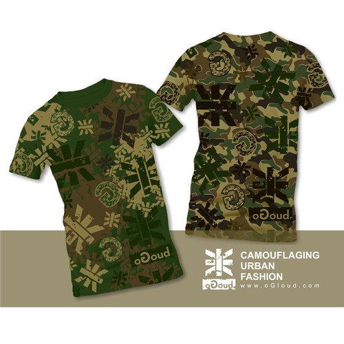 oGoud : Camouflaging urban fashion