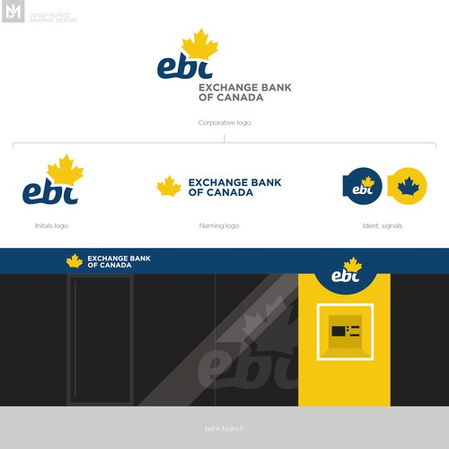 Logo for Exchange Bank of Canada