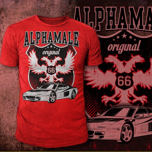 T-Shirt for Alphamale
