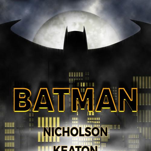 1989 BATMAN Movie Poster