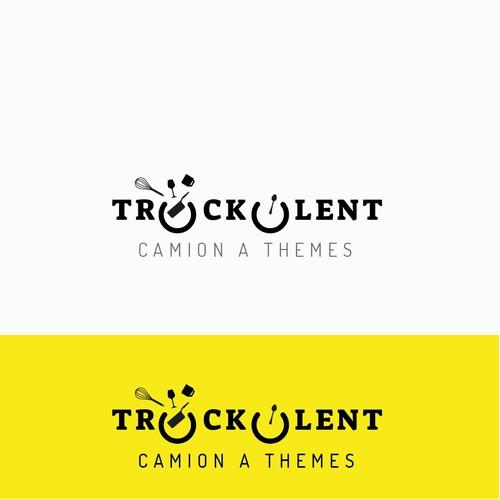 Logo pour le foodtruck Truckulent