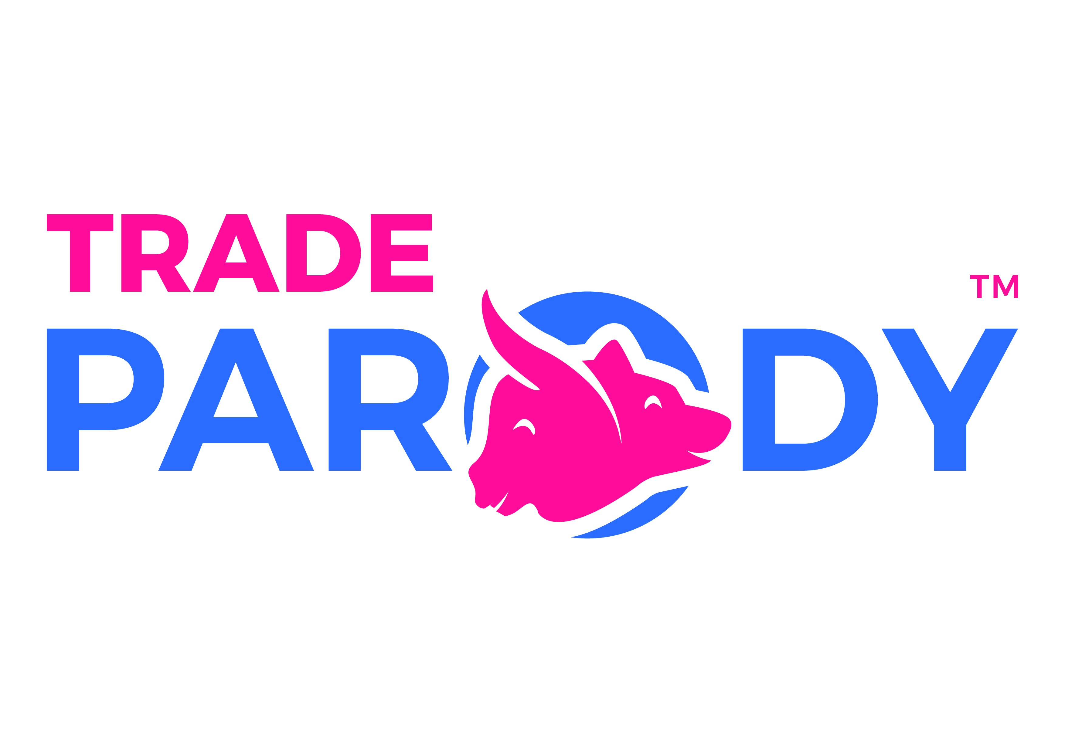 Logo for Startup that is Parody of Wallstreet