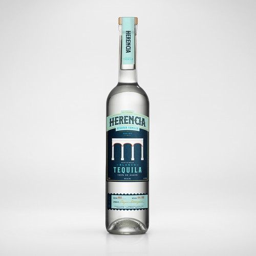 Herencia Tequila Packaging