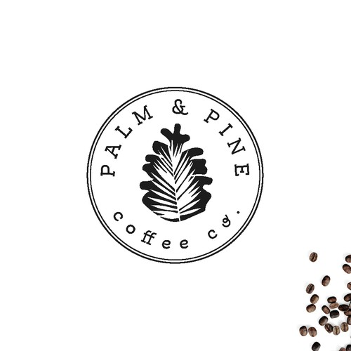 Logo Concept for Palm & Pine
