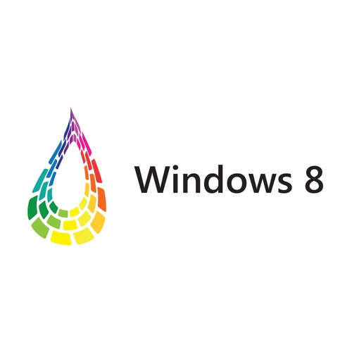 Logo concept for Windows 8