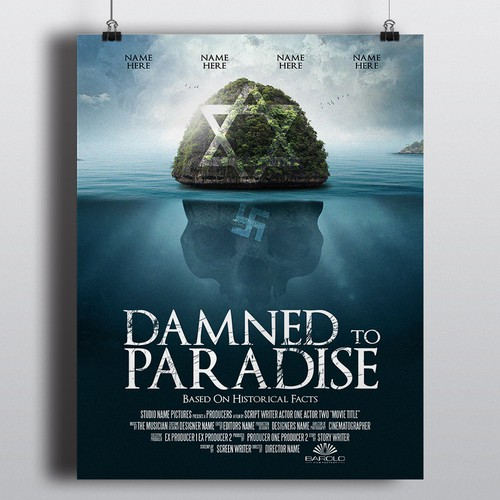 Movie-Poster for Caribbean film production