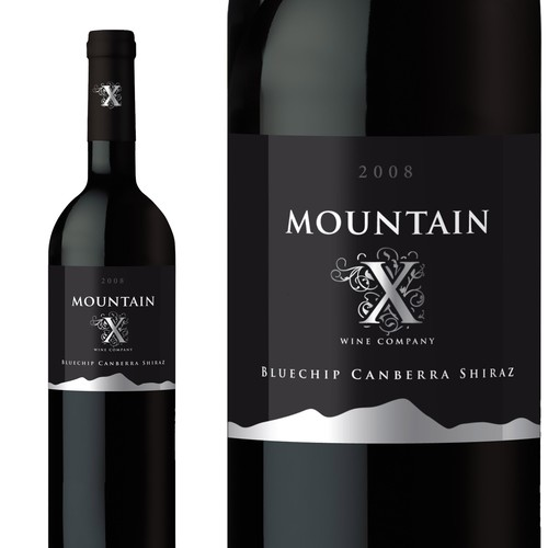 Mountain X Wine - Label