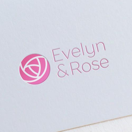 Logo concept for women cosmetics