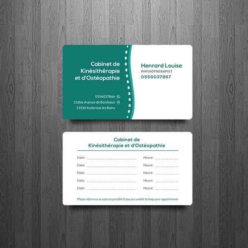 Business Card Design + Control Card
