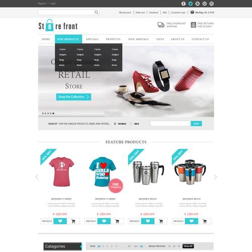 Minimalist E-commerce Store Homepage Challenge