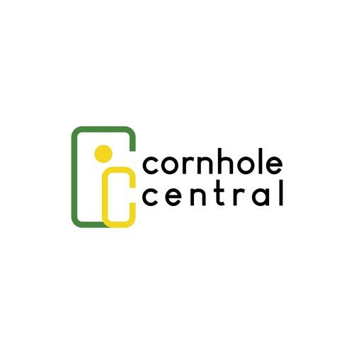 Logo concept for cornhole central