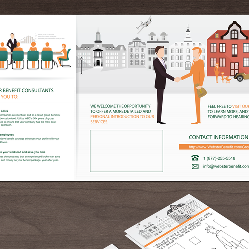 Clean Brochure for Webster Benefits