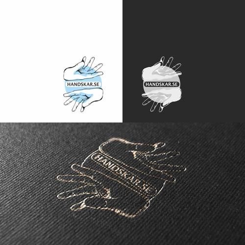 Logo for e-commerce selling gloves