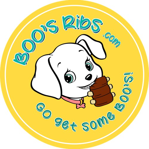 Logo design for a pet restaurant